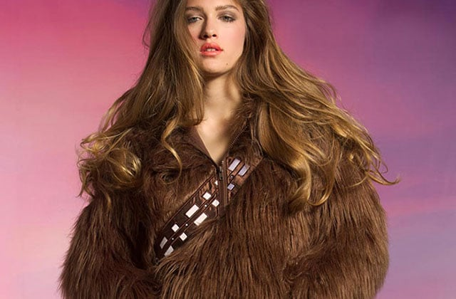 Le sweat Chewbacca de We Love Fine — WTF Mode