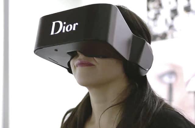 Dior Eyes, le casque de réalité virtuelle pour découvrir l'univers de la marque