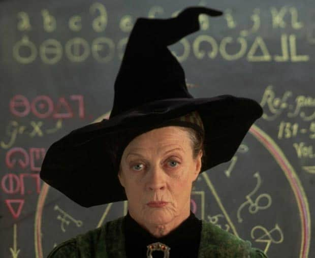 harry-potter-chapeau-sorcier-minerva-mc-gonagall-maggie-smith