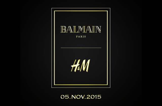 La collection Balmain pour H&M sort aujourd'hui !