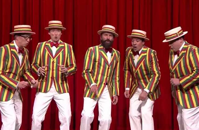 Sting et Jimmy Fallon reprennent «Roxanne» a capella
