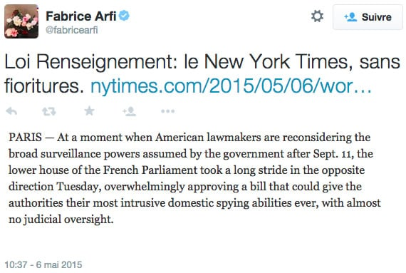 loi-renseignement-nytimes