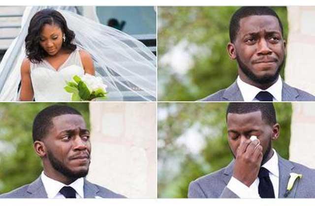 Un jeune marié répond aux moqueries des « meninists » sur ses photos de mariage