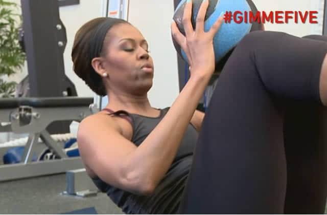 Michelle Obama partage ses cinq exercices pour garder la forme