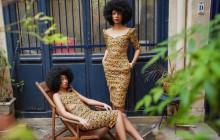 Natacha Baco et sa collection en wax, un superbe tissu bariolé