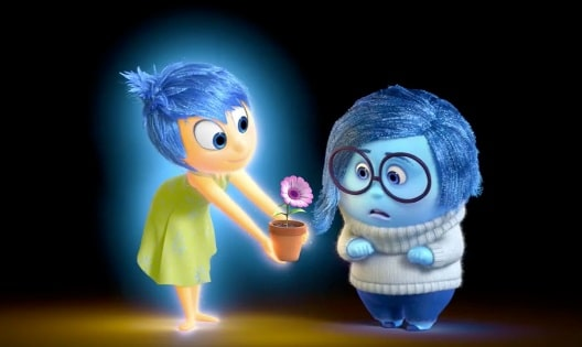 pixar inside out joy flower