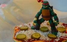 Les pizzas des Tortues Ninja — Recettes et roller-coaster culinaire (partie 2)