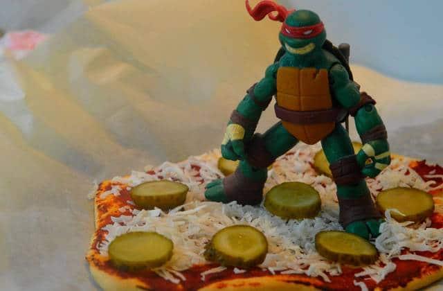Les Pizzas Des Tortues Ninja