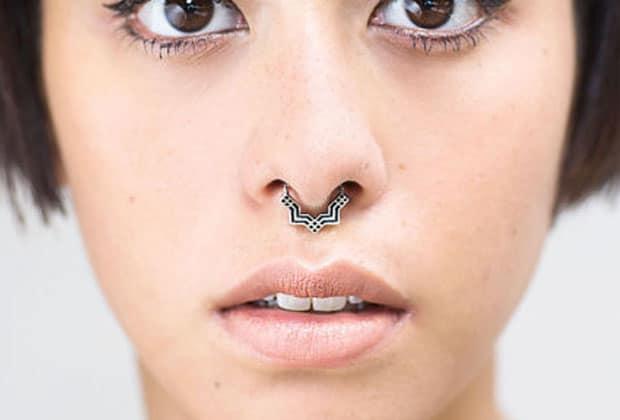 fournir un grand choix de haute couture construction rationnelle Selection de piercings au septum pour un nez swaggé