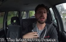 Une typologie des gens qui chantent dans leur voiture en vidéo