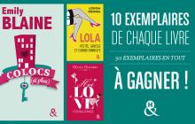 Les éditions Harlequin vous font gagner 30 romans (au choix parmi 3 titres)!