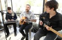 Baden Baden chante «L'Échappée» en acoustique