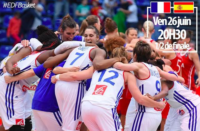 Les Braqueuses sont en finale de l'Euro 2015 de basket !