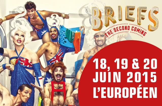 « Briefs — The second coming », un spectacle déjanté à ne pas rater — Concours !