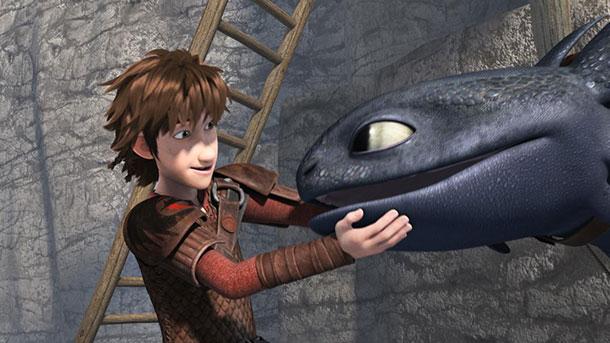 dragons serie harold