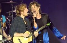 Ed Sheeran et les Rolling Stones jouent ensemble dans un live dingo