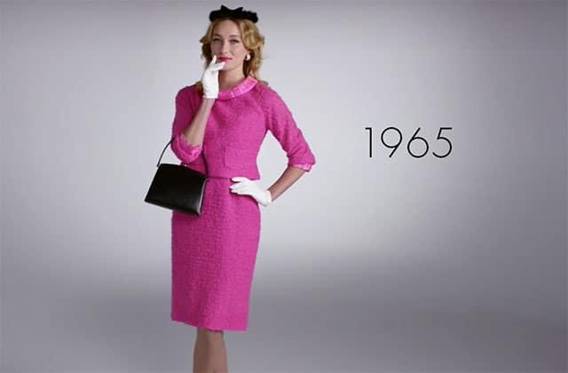 Cent ans de mode américaine féminine en trois minutes (et en vidéo)