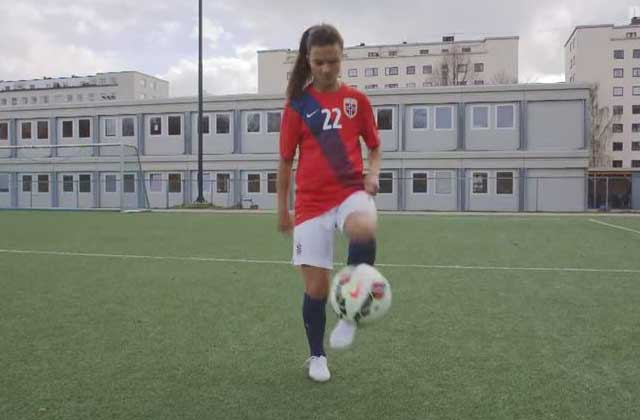 Les footballeuses norvégiennes répondent aux préjugés avec humour