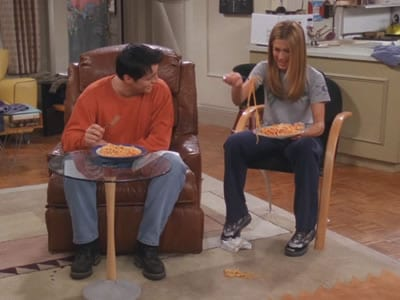 joey rachel friends pasta