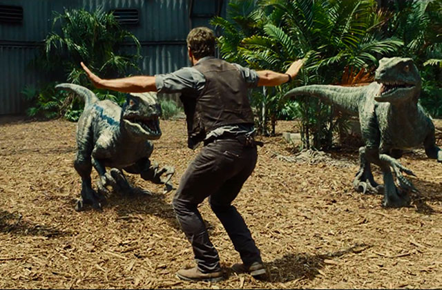 Get the Look — Les personnages de Jurassic World