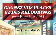Gagnez vos places et un relooking à Japan Expo 2015, avec Japan Lifestyle!