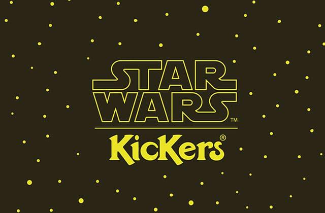 Kickers lance une collection Star Wars… Pour les hommes seulement