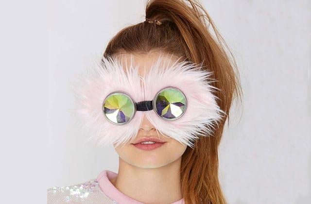 Les lunettes de soleil poilues de NastyGal — WTF Mode