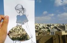 La mode et les villes se mêlent dans de belles illustrations