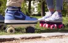 On Wheelz, l'invention pour faire du roller avec ses baskets de ville