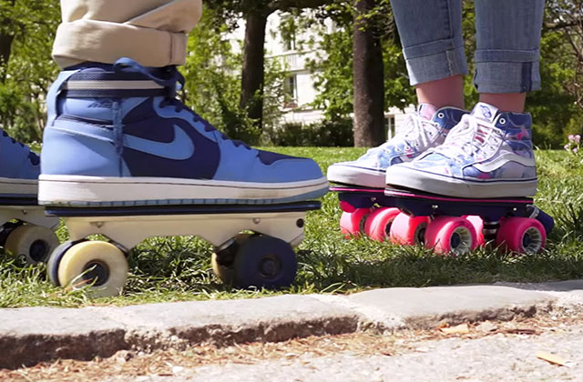 On Wheelz, l'invention pour faire du roller avec ses baskets de ville