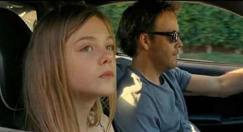père et fille voiture voyage