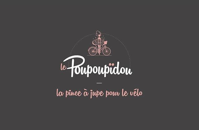 Le Poupoupidou, la petite pince qui permet de faire du vélo en jupe