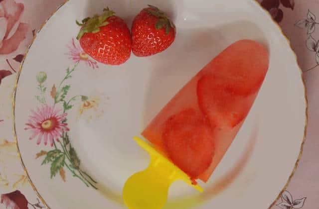 Les sorbets fraise/eau de coco, Oreo et pâte à tartiner chocolat/noisette — Recettes estivales #3