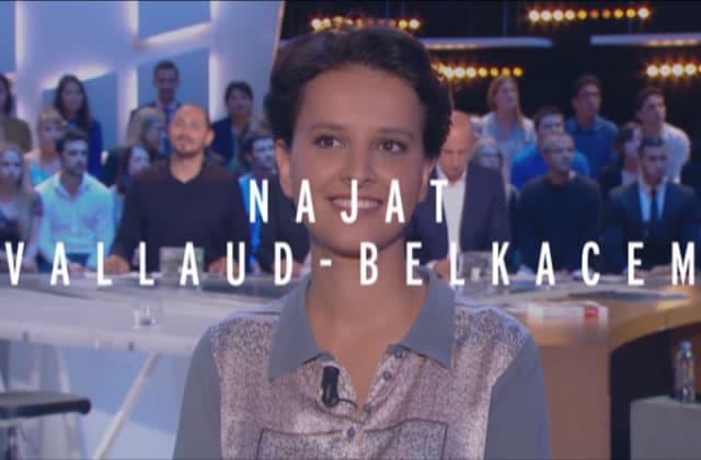 Najat Vallaud-Belkacem défend la réforme du collège au GrandJournal
