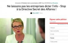 Secret des affaires, la directive qui menace la liberté d'information