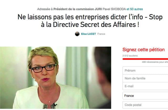 Secret des affaires, la directive qui menace la liberté d'information