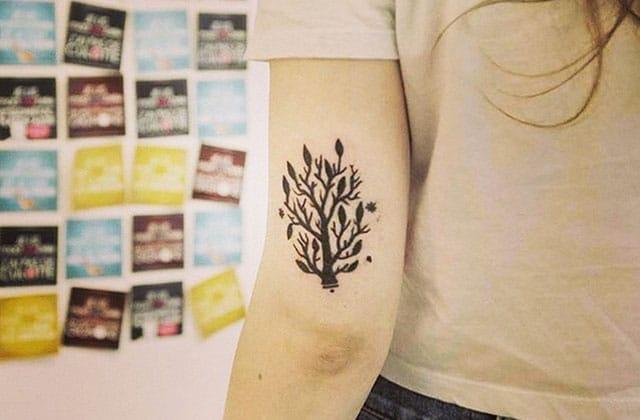 Les tatouages ne sont pas un «accessoire de mode»!