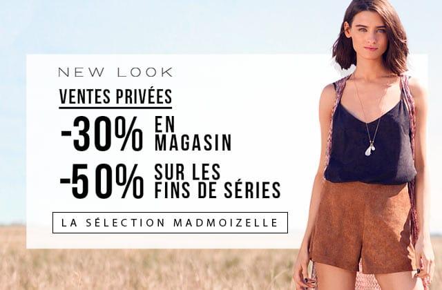New Look lance des ventes privées ! — La sélection de la rédac