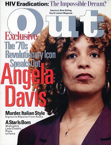 angela davis out