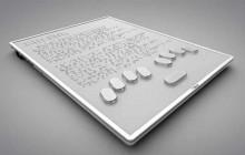Blitab, le prototype de tablette en braille qui pourrait sortir en 2016