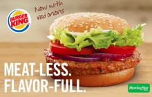 Burger King développe sa ligne de burgers végétariens