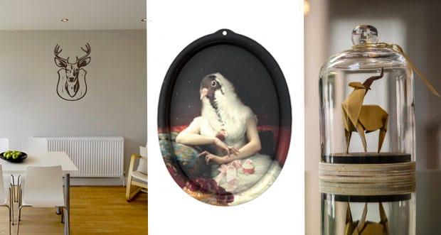 huit astuces d co pour une ambiance cabinet de curiosit s. Black Bedroom Furniture Sets. Home Design Ideas