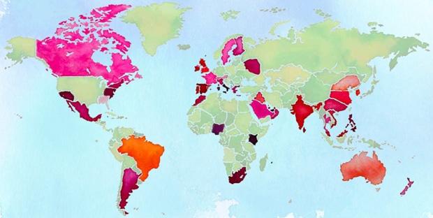 carte-monde-rouge-levres-etude