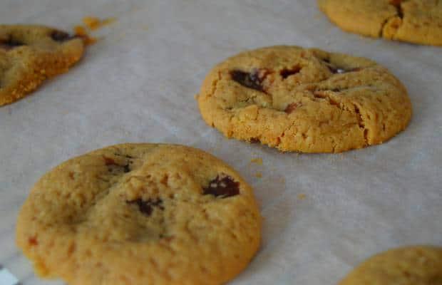 cookie carambar gingembre