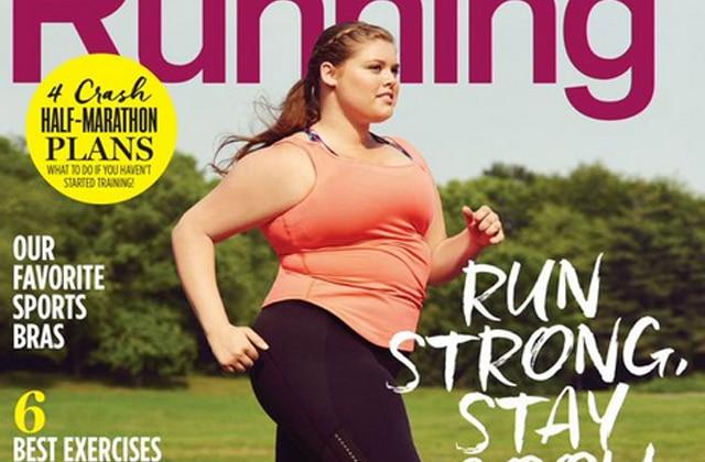 Une mannequin «grandes tailles» en Une d'un magazine de fitness, l'initiative qui fait plaisir