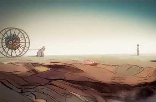 «Strongest Man Alive», le clip animé poétique de The Franklin Electric — Exclu!