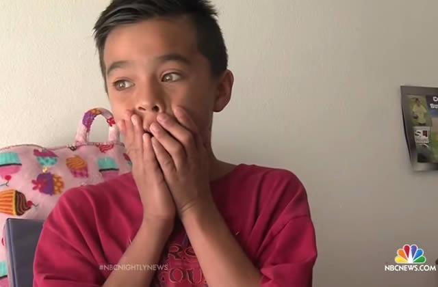 Un petit garçon reçoit un don de 500 livres des internautes émus par son histoire