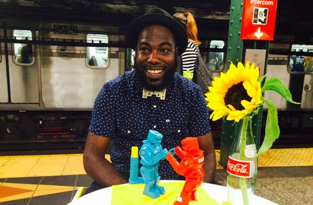 De la joie dans le métro new-yorkais grâce au beau projet « Date While You Wait »