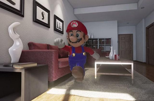 « Mario Is Unreal », la vidéo où Mario se retrouve dans un monde hyper réaliste