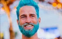#MermanHair, ou quand les hommes aussi se mettent aux cheveux arc-en-ciel